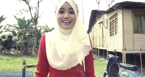 Video Lirik Lagu Bersama Di Hari Raya Ainan Tasneem