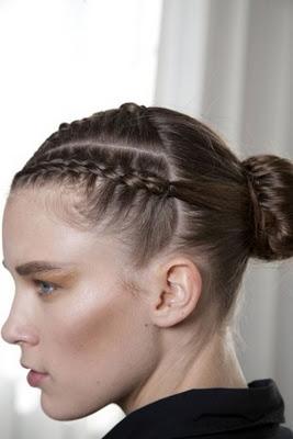 Moderne Frisuren mit Zöpfen 2012/2013