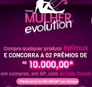 """Promoção Intimus - """"Mulher Evolution """""""