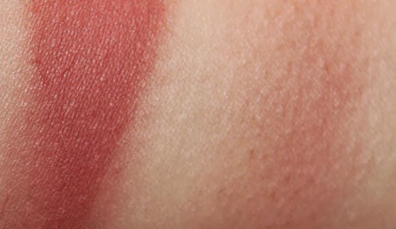 mocha color swatch mac mocha blush review the sunday girl