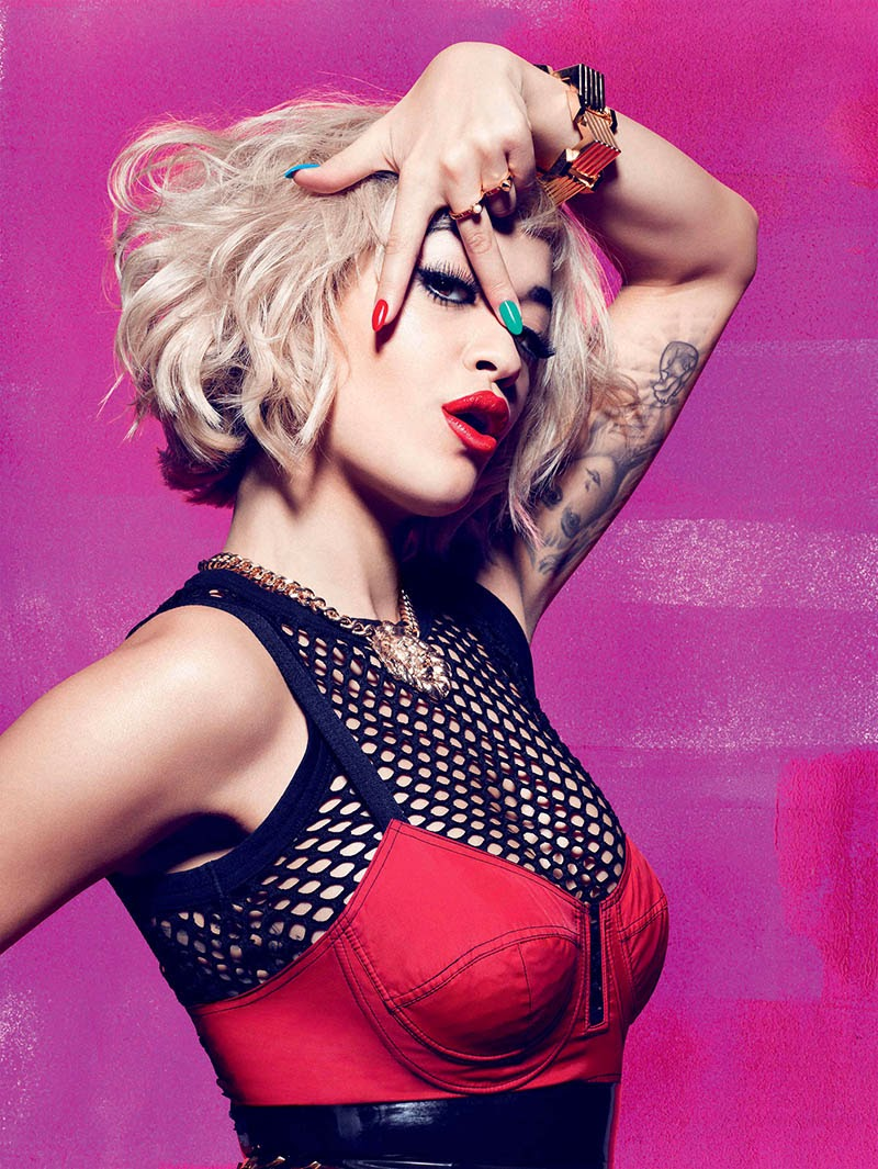 Rita Ora HQ Pictures Rimmel London Magazine Photoshoot Spring/Summer 2014