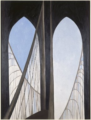 O'Keeffe: Brooklyn Bridge