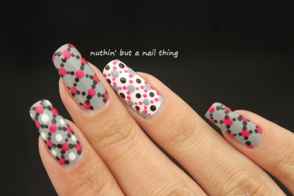 Nuthin but a nail thing polka dot nail art polka dot nail art prinsesfo Gallery