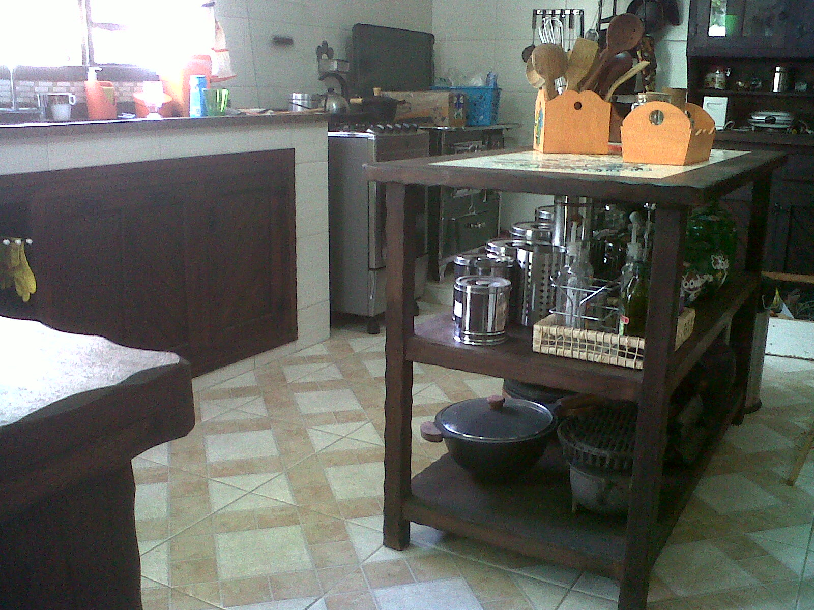 #975C34 decoracao cozinha caipira:Cozinha Caipira 1600x1200 px Projeto De Cozinha Caipira Completa #2815 imagens
