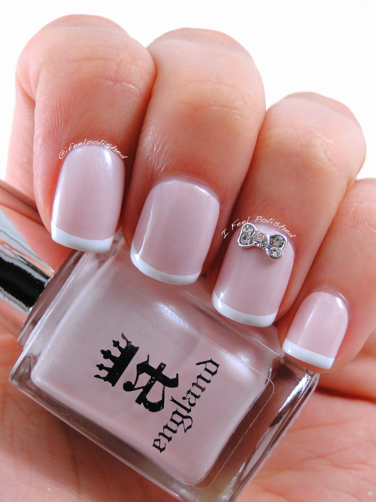 I Feel Polished!: Traditional French Tip