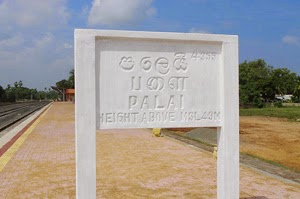 Residents of Palai pelt stones at police station