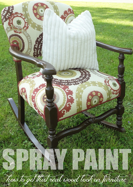 10 Spray Paint Tips: what you never knew about spray paint (like how to spray paint furniture to look like wood!). So good to know! Check this out!