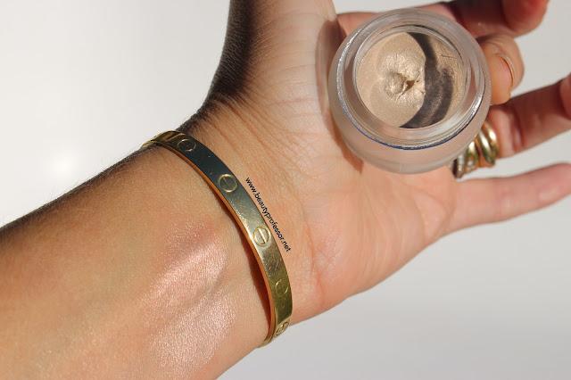 topshop beauty glow pot swatch