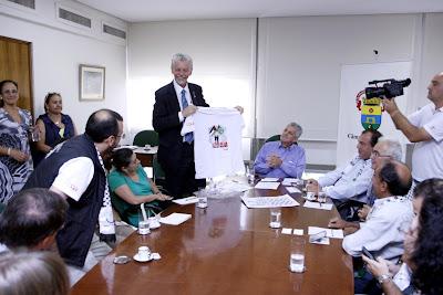 Entidades palestinas e da sociedade civl se reunem com Fortunati