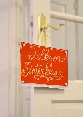 Welkom Sinterklaas Kinderknutselen knutsel ideeen bloknote