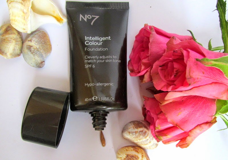 no7 intelligent colour foundation review