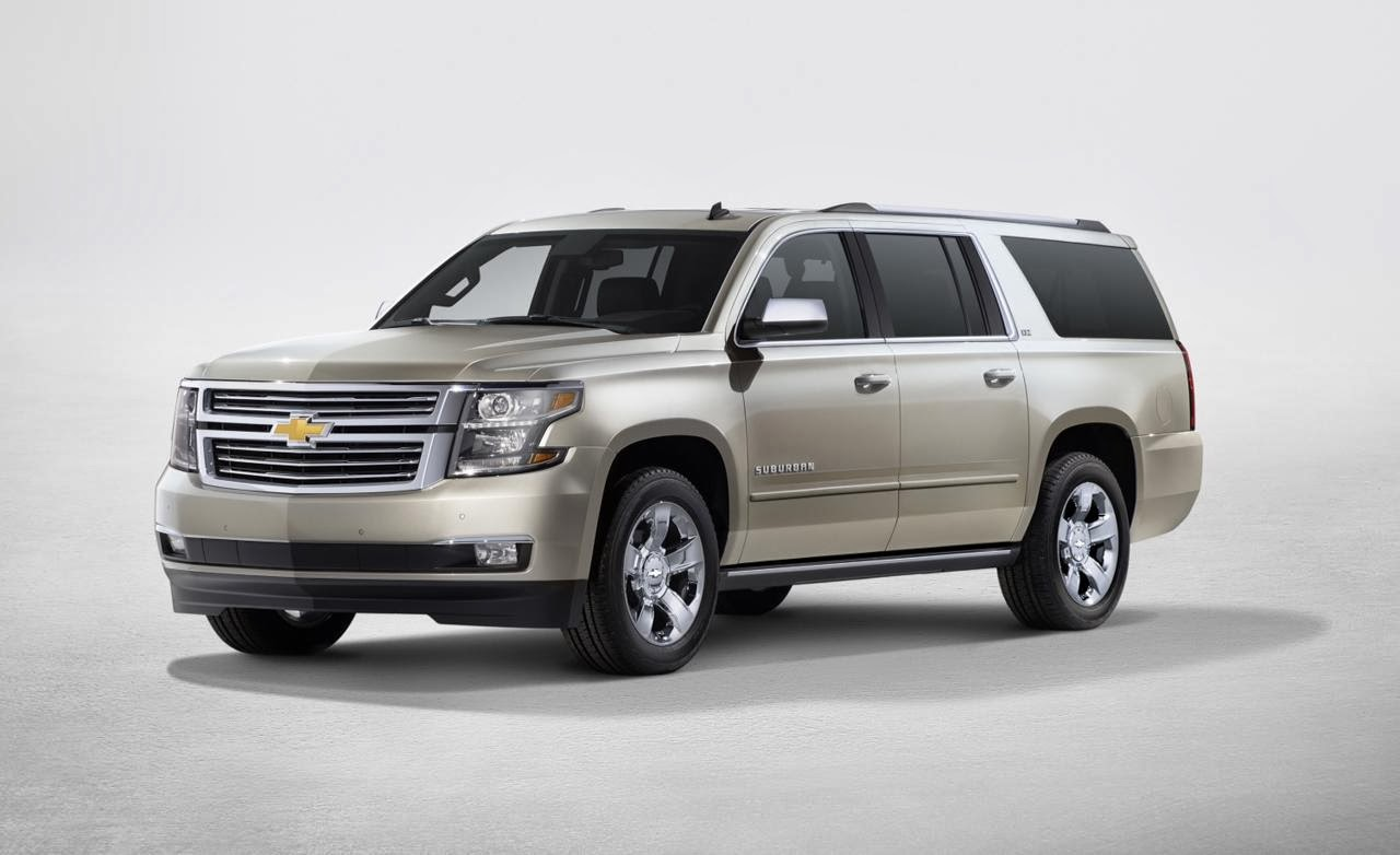 2015 Chevrolet Tahoe and Suburban Become More Efficient
