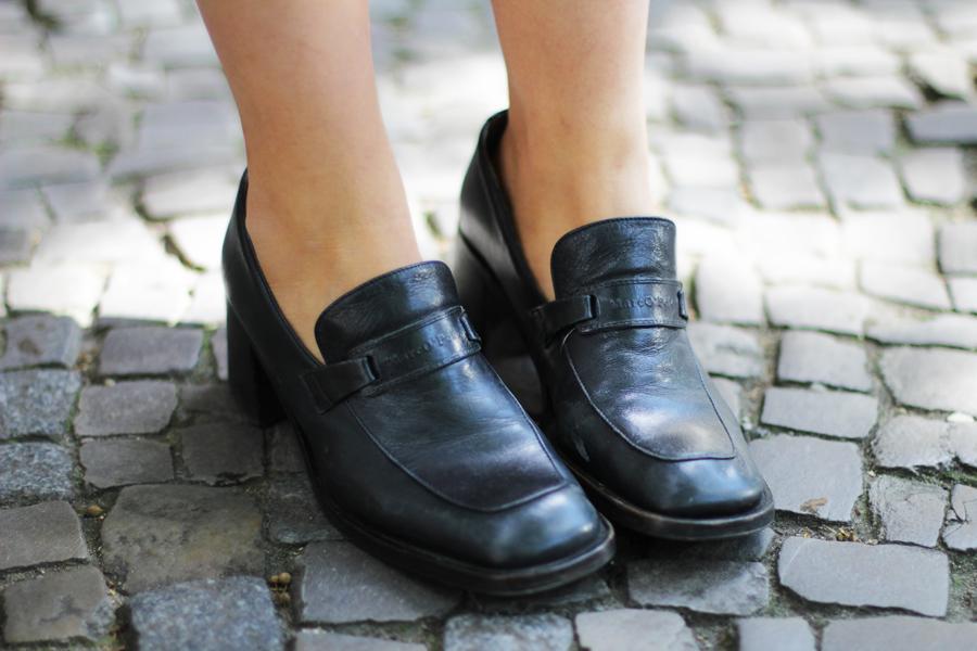 shoes vintage flats