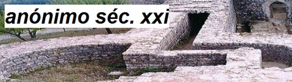 anónimo séc. xxi