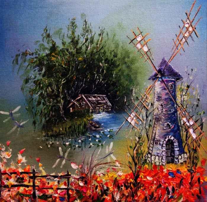 Российский художник. Николай Пахомов