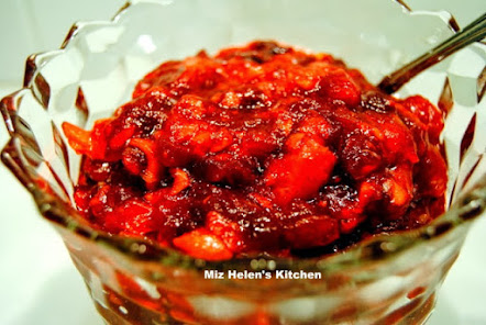 Cranberry Relish Sweet and Spicy