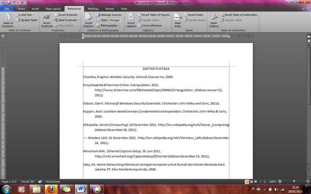 Membuat daftar pustaka secara otomatis ~ duasatusebelas