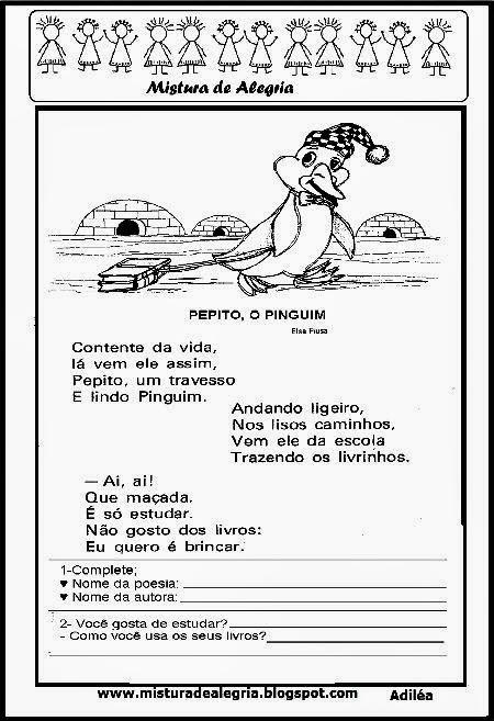Poesia Pepito, o pinguim