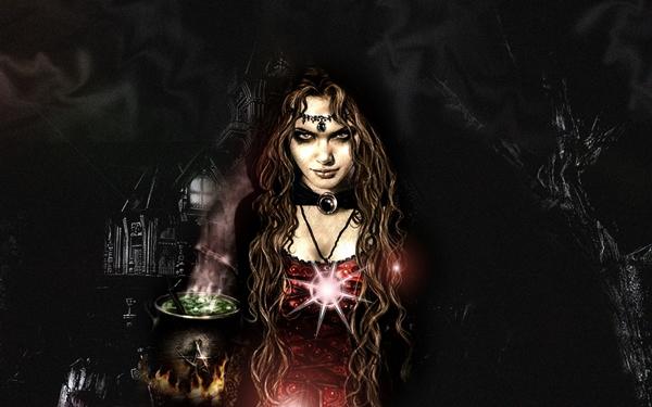 Bruja Oscura Malvada