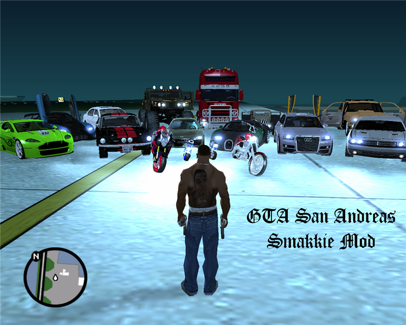 GTA San Andreas : Smakkie Mod V2 (Mediafire Links)