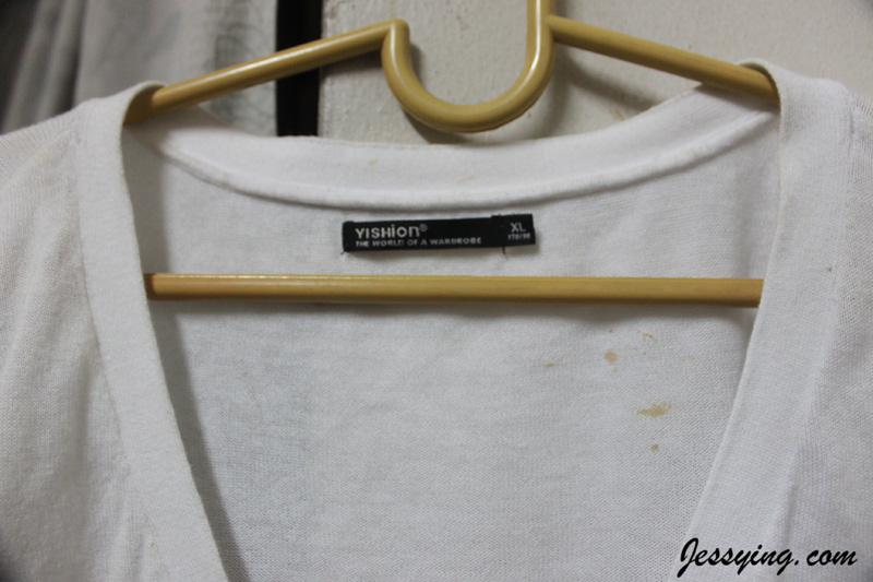 white clothes turn yellow in washing machine