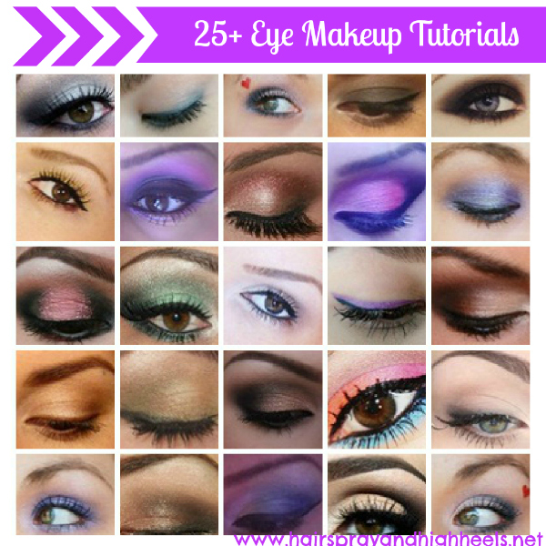 25+ Eye Makeup Tutorials