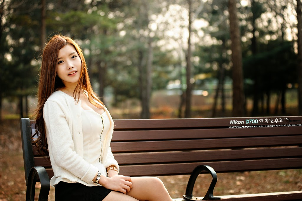 3 Yeon Ji Eun - Lovely Ji Eun In Outdoors Photo Shoot - very cute asian girl-girlcute4u.blogspot.com