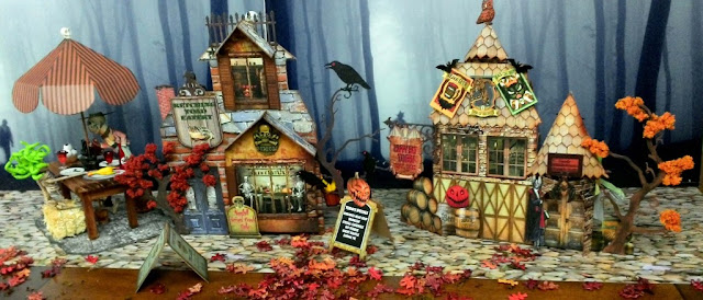 Artfully Musing  ~ Halloween Haunted Village Event
