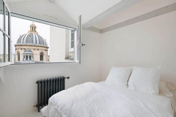 D couvrir l 39 endroit du d cor blancheur et minimalisme for Camere matrimoniali piccole