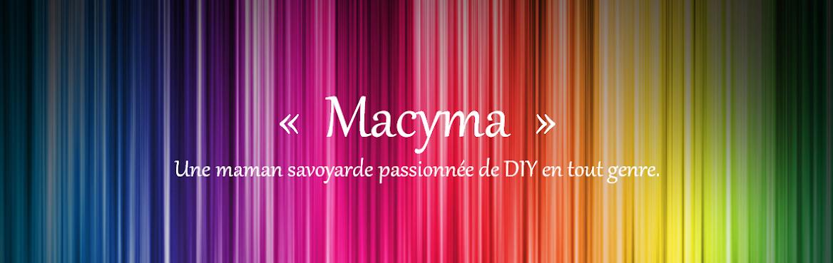 MaCyMa :une maman savoyarde passionnée de DIY en tout genre