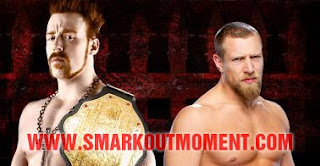 World Heavyweight Championship 2 out of 3 falls Sheamus Daniel Bryan