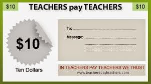 Teachers Pay Teachers gift Certificate image Clever Classroom