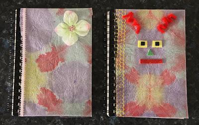 tissue paper tie dye journal lesson plans. Black Bedroom Furniture Sets. Home Design Ideas