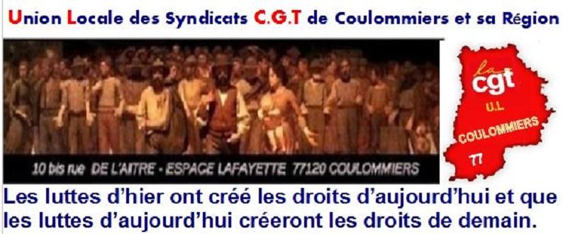 UL CGT de Coulommiers et sa région