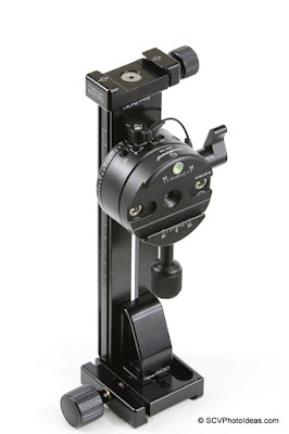 Hejnar PHOTO F60 mini clamp on G21-80 based Vertical Rail + Sunwayfoto DDP-64S Index Rotator