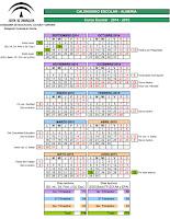 Calendario Benahadux 2015/16