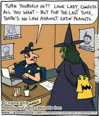 Peanuts Halloween Cartoons