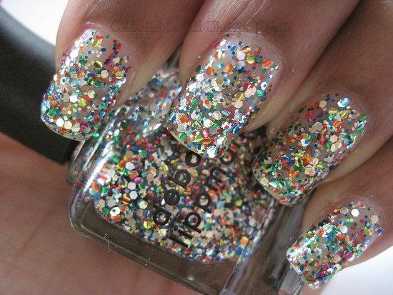 Glitter Nail Polish a
