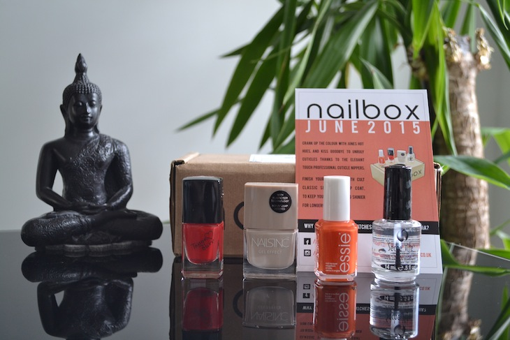 nailbox subscription june review blog
