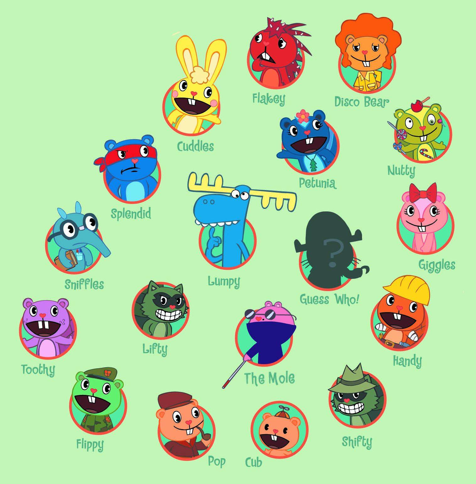 Happy tree friends (школьн