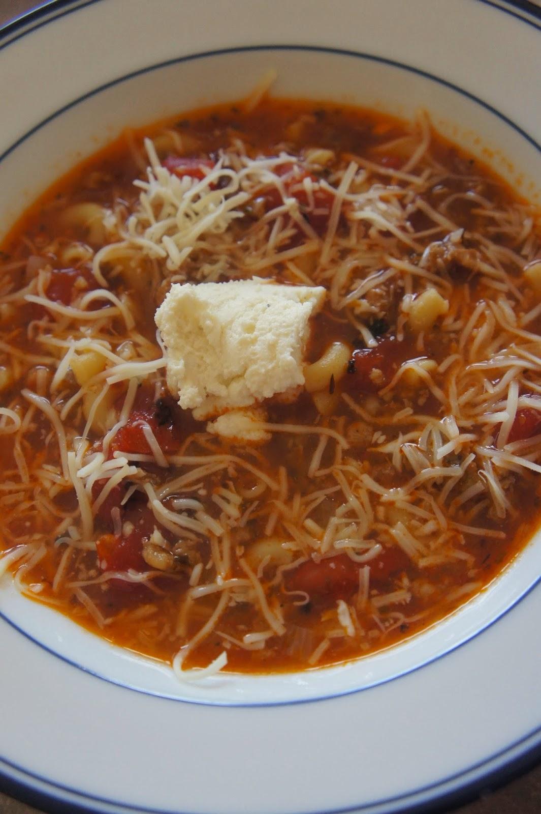 Lasagna Soup: Savory Sweet and Satisfying