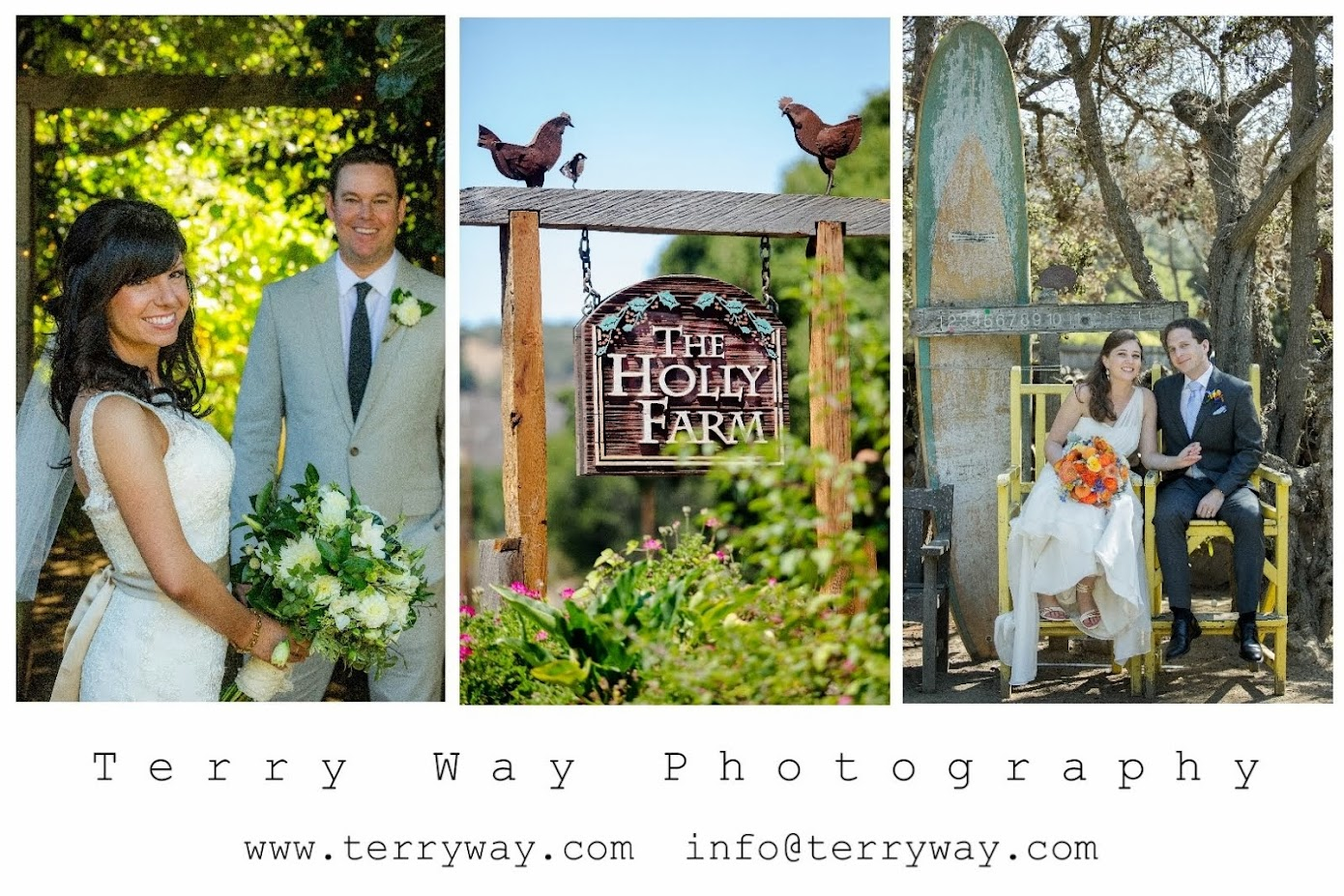 Holly Farm Carmel Wedding Photography- Terry Way Photography