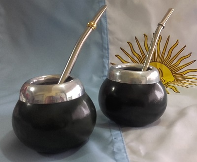 Mate calabaza mediano - S/ 40.00