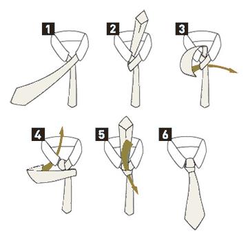 S lo nudos de corbata nudos de corbata el nudo medio windsor for Nudo de corbata windsor