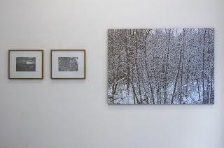 Richard Müller: exposition A percevoir vue de l'accrochage