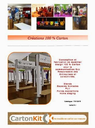 Catalogue Stand en Carton