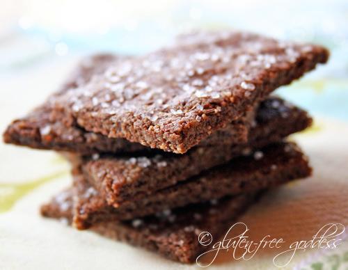 Crunchy gluten-free pecan crackers- not hard to make!
