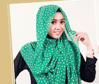 Kreasi jilbab pashmina model terbaru