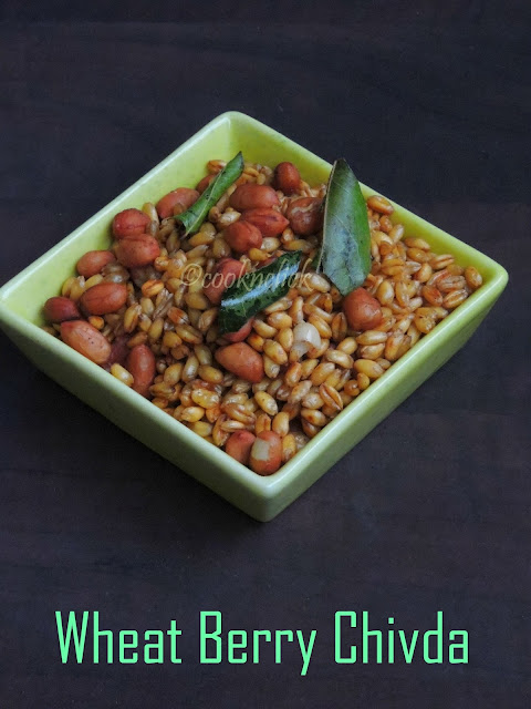 Wheat berry mixture
