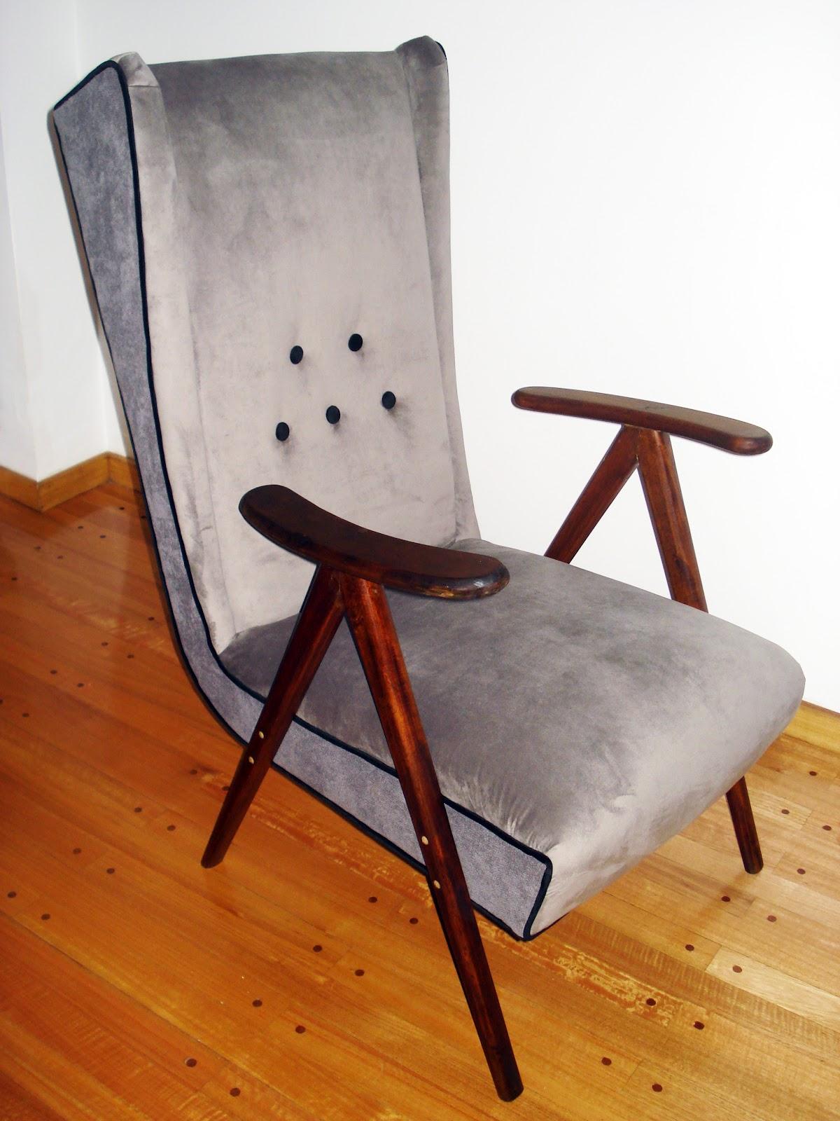 Chochiloca reciclado de muebles sillon americano for Reciclado de muebles